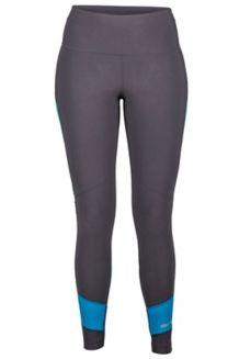 Wm's Adrenaline Tight, Dark Charcoal/Slate Blue, medium