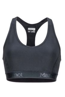 Wm's Layer Up Sportsbra, Black, medium