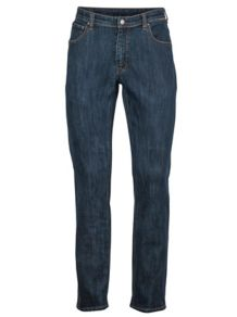 Pipeline Jean Reg Fit Long, Dark Indigo, medium