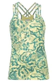 Wm's Vogue Tank, Honeydew Ripple, medium