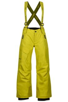 Boy's Edge Insulated Pant, Citronelle, medium