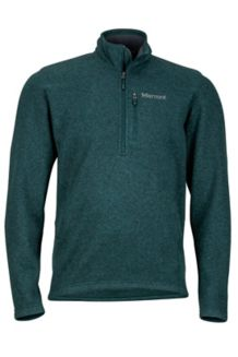 Drop Line 1/2 Zip, Dark Spruce, medium