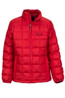Boy's Ajax Jacket, Team Red, medium
