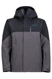 Sidecut Jacket, Black/Slate Grey, medium