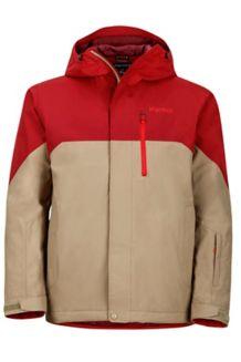 Sidecut Jacket, Brick/Desert Khaki, medium