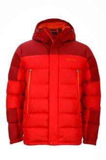 Mountain Down Jacket, Team Red/Brick, medium