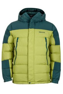 Mountain Down Jacket, Cilantro/Dark Spruce, medium