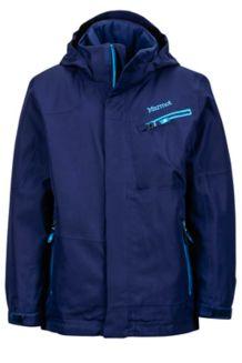 Boy's Freerider Jacket, Arctic Navy, medium