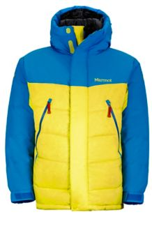 8000M Parka, Acid Yellow/Cobalt Blue, medium