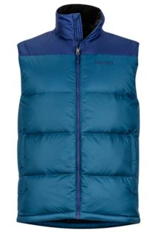 Guides Down Vest, Denim/Arctic Navy, medium