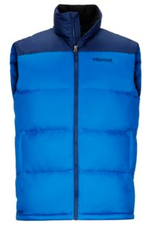 Guides Down Vest, True Blue/Arctic Navy, medium