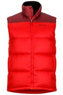 Guides Down Vest, Team Red/Port, medium