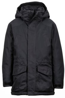 Boy's Bridgeport Jacket, Black, medium