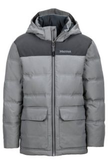 Boy's Rail Jacket, Phantom Grey/Slate Grey, medium