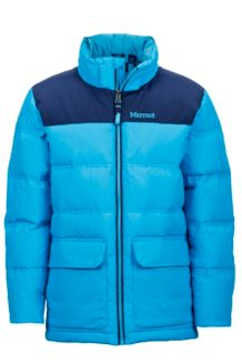 Boy's Rail Jacket, Bahama Blue/Arctic Navy, medium