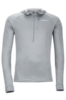 Indio 1/2 Zip, Grey Storm, medium