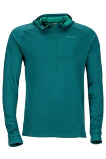 Indio 1/2 Zip, Deep Teal, medium