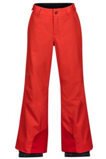 Boy's Vertical Pant, Hot Orange, medium