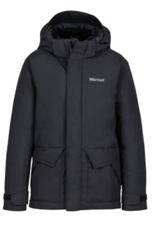 Boy's Colossus Jacket, Black, medium
