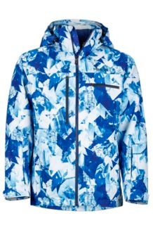 Corkscrew Featherless Jacket, True Blue Glacier, medium