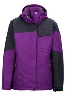 Girl's Moonstruck Jacket, Mystic Purple/Dark Steel, medium