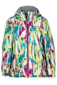 Girl's Big Sky Jacket, Purple Orchid Wisteria, medium