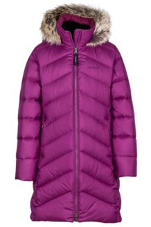Girl's Montreaux Coat, Deep Plum, medium