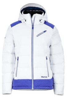 Wm's Sling Shot Jacket, White/Royal Night, medium