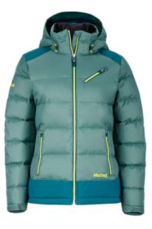 Wm's Sling Shot Jacket, Urban Army/Deep Teal, medium