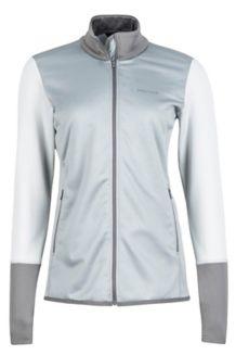 Wm's Thirona Jacket, Grey Storm/Bright Steel, medium