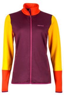 Wm's Thirona Jacket, Dark Purple/Golden Sun, medium
