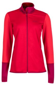 Wm's Thirona Jacket, Team Red/Tomato, medium