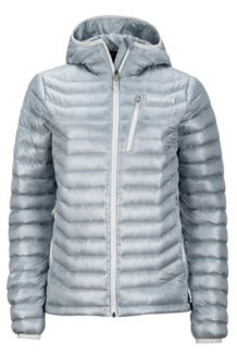 Wm's Quasar Hoody, Silver, medium