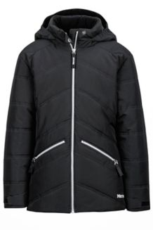 Girl's Val D'Sere Jacket, Black, medium