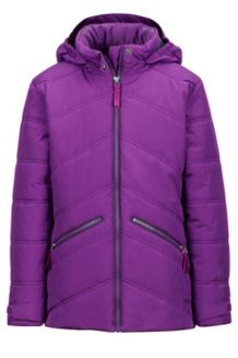 Girl's Val D'Sere Jacket, Mystic Purple, medium