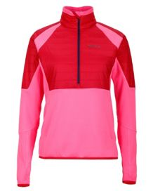Wm's Furiosa 1/2 Zip, Kinetic Pink/Persian Red, medium