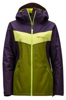 Wm's Ambrosia Jacket, Cilantro/Nightshade, medium