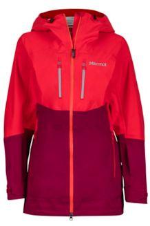 Wm's Sublime Jacket, Tomato/Red Dahlia, medium