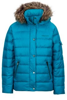 Girl's Hailey Jacket, Turquoise, medium