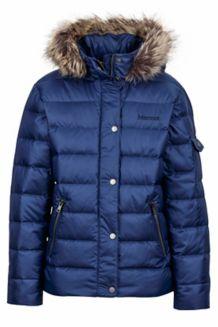 Girl's Hailey Jacket, Arctic Navy, medium