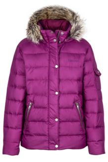 Girl's Hailey Jacket, Deep Plum, medium