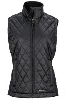 Wm's Kitzbuhel Vest, Black, medium