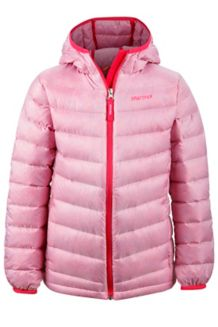 Girl's Nika Hoody, Pink Lotus, medium