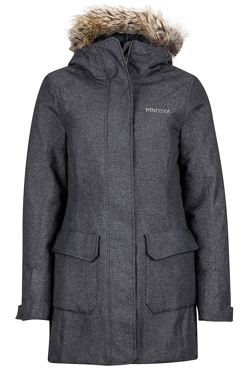 Wm's Georgina Featherless Jacket, Black, large