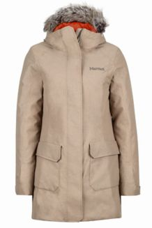 Wm's Georgina Featherless Jacket, Desert Khaki, medium