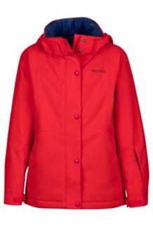 Girl's Nakiska Jacket, Tomato, medium