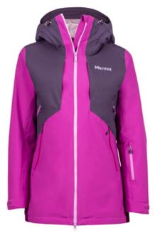 Wm's Powderline Jacket, Purple Orchid/Nightshade, medium