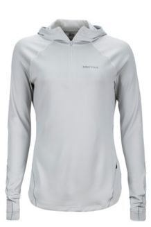 Wm's Indio 1/2 Zip, Glacier Grey, medium
