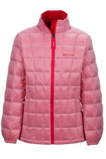 Girl's Sol Jacket, Pink Rock, medium