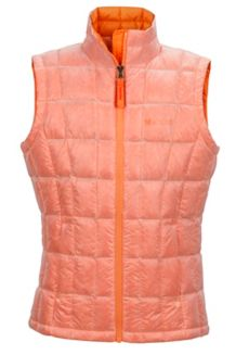 Girl's Sol Vest, Nectarine, medium
